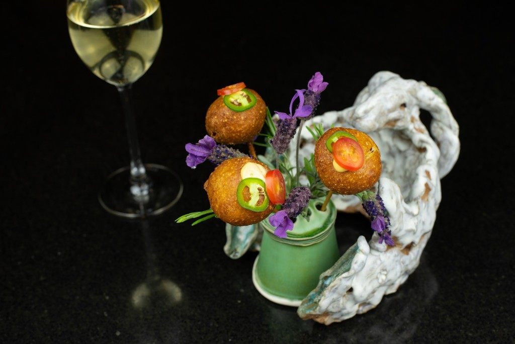Sonoran-Style Shrimp Corndog
